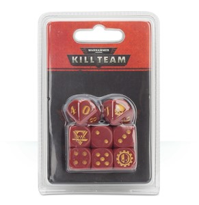 Picture of Adeptus Mechanicus Dice Set Kill Team