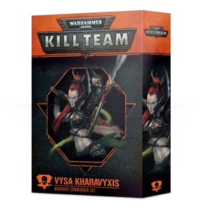 Picture of Vysa Kharavyxis Drukhari Commander Set Kill Team