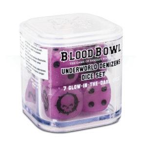 Picture of Blood Bowl: Underworld Denizens Dice (Glow in the dark)