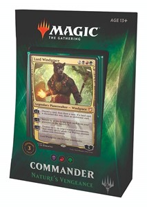 Picture of Commander 2018 Nature's Vengeance Magic the Gathering
