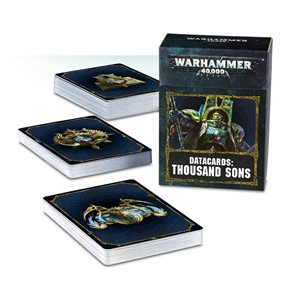 Picture of Datacards: Thousand Sons