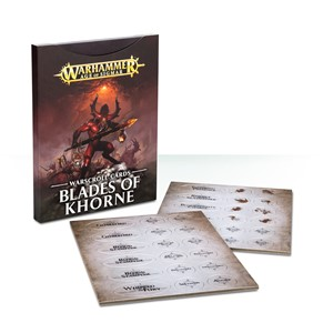 Picture of Blades of Khone Warscroll Cards - 2017