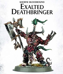 Picture of KHORNE BLOODBOUND EXALTED DEATHBRINGER - Direct From Supplier*.