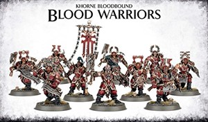Picture of KHORNE BLOODBOUND BLOOD WARRIORS - Direct From Supplier*.