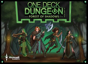 Picture of One Deck Dungeon - Forest of Shadows Game