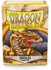 Picture of Matte Gold  Standard Sleeves (100) dragon shield