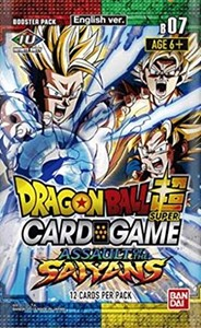 Picture of Assault of the Saiyans Dragonball Super Booster