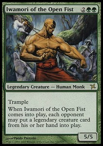 Picture of Iwamori of the Open Fist