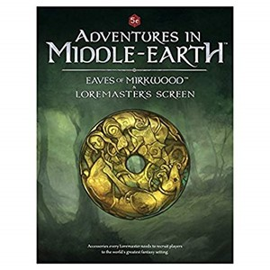 Picture of Adventures in Middle Earth DM Screen