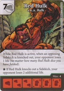 Picture of Red Hulk - a.k.a. Rulk
