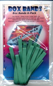 Picture of Box Bands: Regular size (Pack of 6) Green