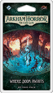 Picture of Where Doom Awaits Arkham Horror The Card Game  Expansion