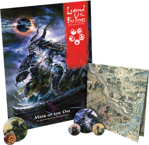 Picture of Mask of the Oni - Legend of the Five Rings Roleplaying Game