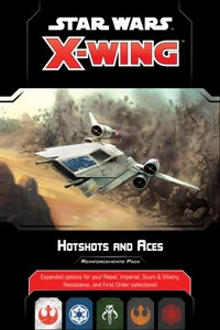 Picture of Star Wars X-Wing Hotshots and Aces Reinforcement Pack 2nd Edition