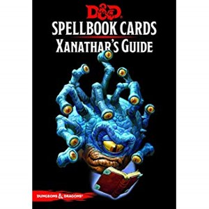 Picture of Xanathar's Guide Spellbook Cards Dungeons and Drangons