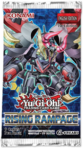 Picture of Rising Rampage Booster Packet Yu-Gi-Oh!