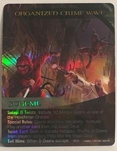 Picture of Marvel Legendary Dark City Organized Crime Wave Foil Card