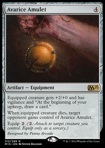 Picture of Avarice Amulet