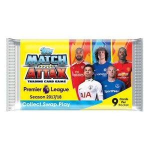 Picture of English Premier League Match Attax 2017/18 Booster Pack