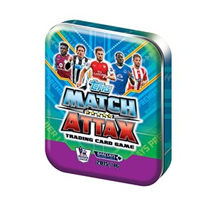 Picture of Match Attax EPL 15/16 Trading Card Collector Tin