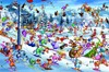 Picture of Ruyer - Christmas Skiing (Jigsaw 1000-Piece)