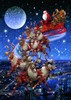 Picture of Santas Flying Sleigh (Jigsaw 1000pc)