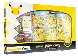 Picture of Celebrations Special Collection Pikachu V - Union - 25th Anniversary Pokemon - Pre-Order*.