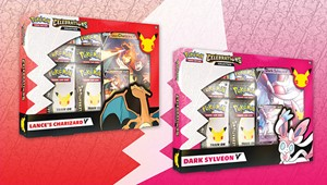Picture of Celebrations V Box - Lance's Charizard V Pokemon TCG: 25th Anniversary Pokemon