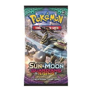 Picture of Sun and Moon Guardians Rising Booster Pack Pokemon