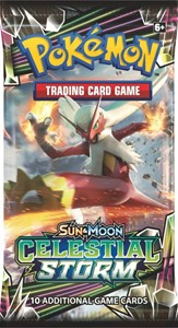Picture of Celestial Storm Booster Packet Sun and Moon Pokemon