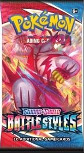 Picture of Sword & Shield 5 Battle Styles Booster Pokemon