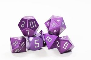 Picture of Purple Aluminium Metal Dice