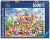 Picture of Disney Carnival Multicharacter (1000pc Jigsaw Puzzle)