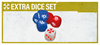 Picture of Resident Evil 2: The Board Game - Extra Dice Set
