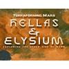 Picture of Hellas & Elysium Terraforming Mars
