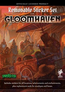Picture of Gloomhaven: Removable Sticker Set
