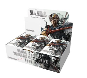 Picture of Final Fantasy Opus 6 Trading Card Booster Display