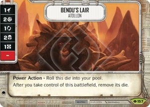 Picture of  Bendu's Lair - Atollon Comes With Dice