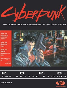 Picture of Cyberpunk 2.0.2.0 RPG Core Rulebook (2nd Edition)