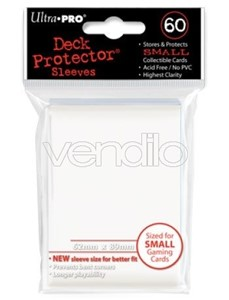 Picture of Small Ultra Pro White Deck Protectors (60ct)