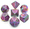 Picture of Colorful Plating Glitter Metal Dice