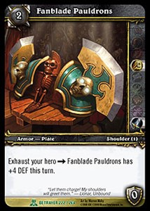 Picture of Fanblade Pauldrons
