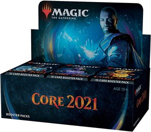 Picture of Core Set 2021 Draft Booster Display Box (36 boosters) - Magic the Gathering