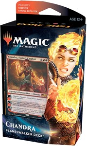 Picture of Planeswalker Deck Core 2021: Chandra, Flame's Catalyst - Magic the Gathering