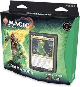 Picture of Zendikar Rising Land's Wrath Commander Deck