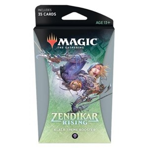 Picture of Zendikar Rising Theme Booster - Black