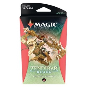 Picture of Zendikar Rising Theme Booster - Red