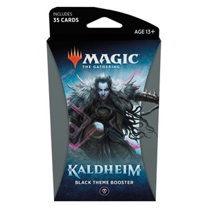 Picture of Kaldheim Theme Booster Black - Magic The Gathering
