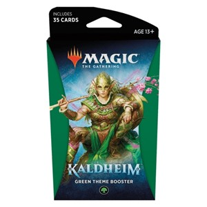 Picture of Kaldheim Theme Booster Green - Magic The Gathering
