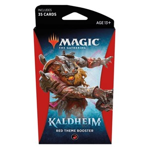 Picture of Kaldheim Theme Booster Red - Magic The Gathering